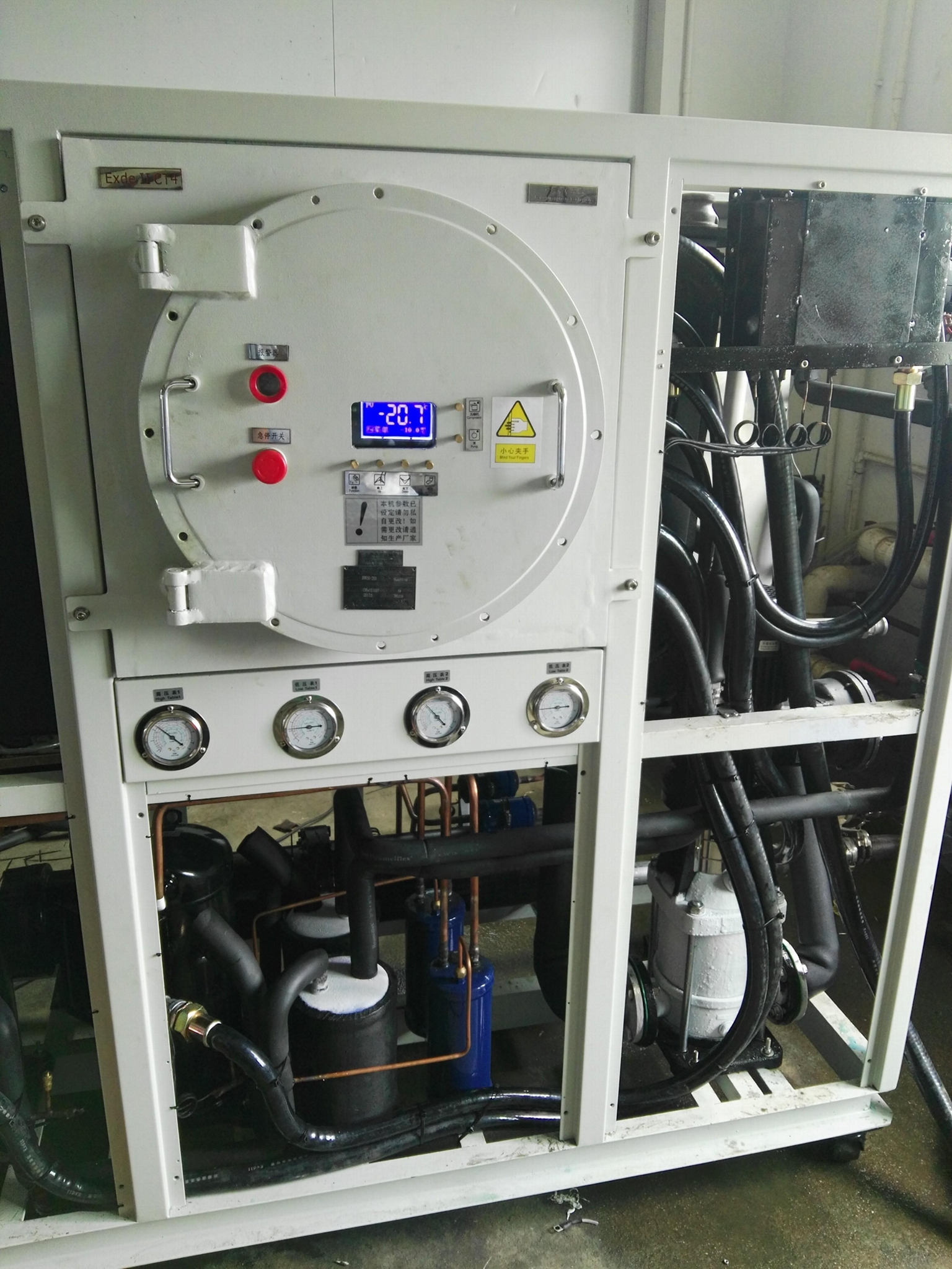 本森智能厂家供应防爆型工业冷水机组 4