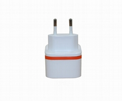 Charger with EU Power Charger Multi USB Port Charger for Mobile Phone Type-C (C1
