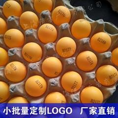 定制乒乓球可印logo