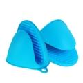 可印logo硅膠手套隔熱防燙防滑 3
