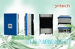 DC to AC power solar pumping system with pump inverter, remote control technolog