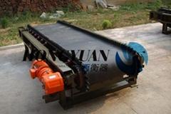 宏源衡器通過式高精度煤炭專用皮帶秤