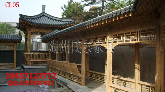 防腐木古建长廊 2