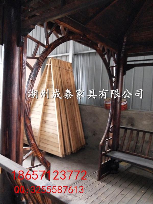 新農村建設-防腐木-戶外傢具涼亭 2