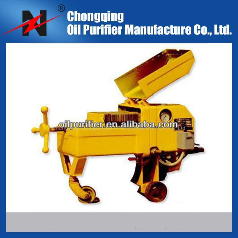 Hot sale Portable Plate Pressure Used Oil Purifier Plant for sale 1