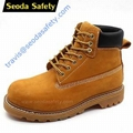 Goodyear welted safety boots 1