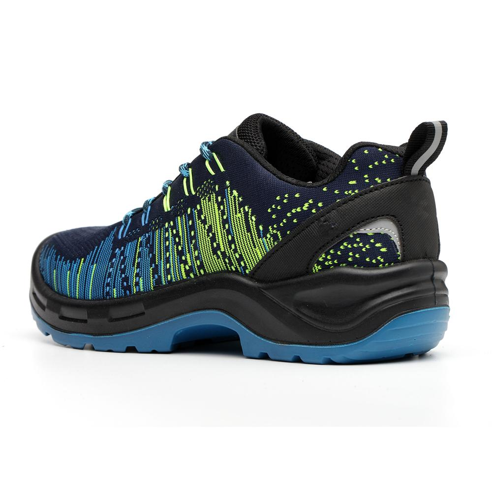 Flyknit Fabric PU Sole Safety Work Boots with Safety Toe 3