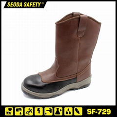 PU Injection Oil Resistant Safety Work Boots