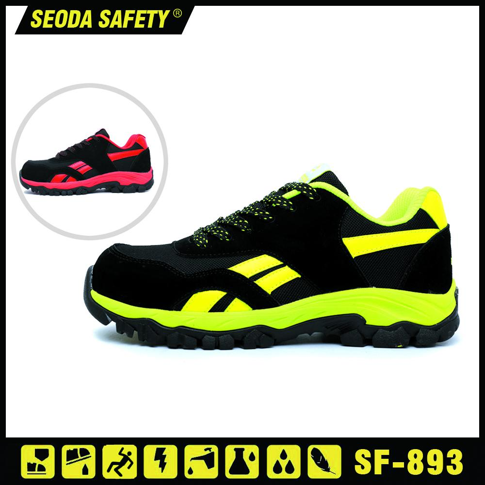 Suede Mesh Leather Safety Working Shoes (sf-890) 1