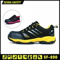 Suede Mesh Leather Safety Working Shoes (sf-890) 2