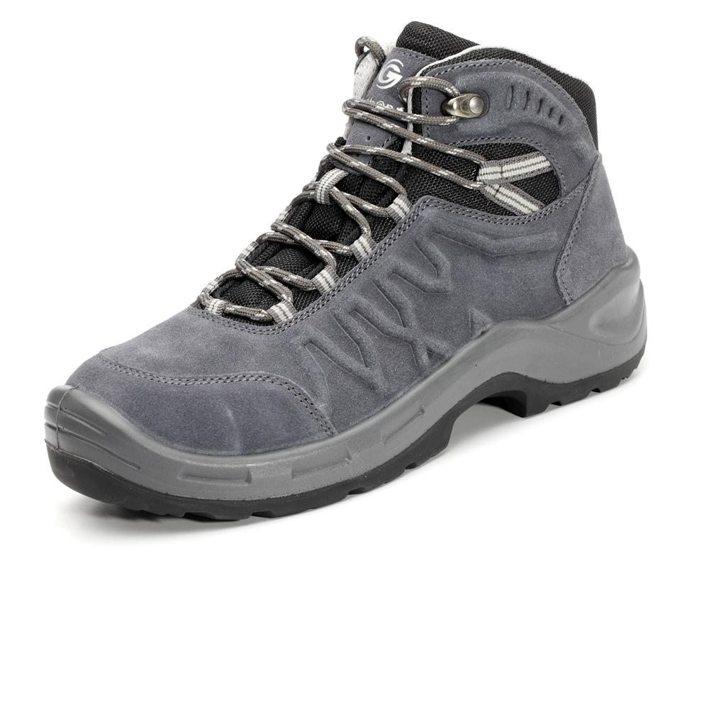 Suede Leather PU Safety Boot with New Design Sole 5