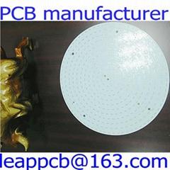 white aluminum led pcb board