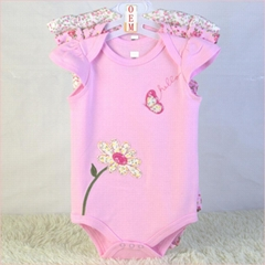 infant garment 3 pack onesies china baby bodysuits manufacturer