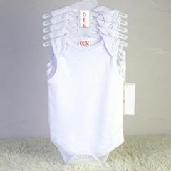 newborn baby 5 pack sleeveless bodysuits OEM orders china baby garments factory