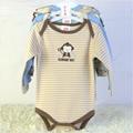 baby 3 pack long sleeve bodysuits OEM