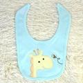 baby bodysuit bib and pants 3 piece set China OEM baby garment factory 2