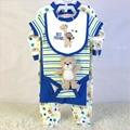 infant garment set bodysuit bib doll