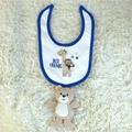 infant garment set bodysuit bib doll pants and sleeper 5 piece set China OEM  2