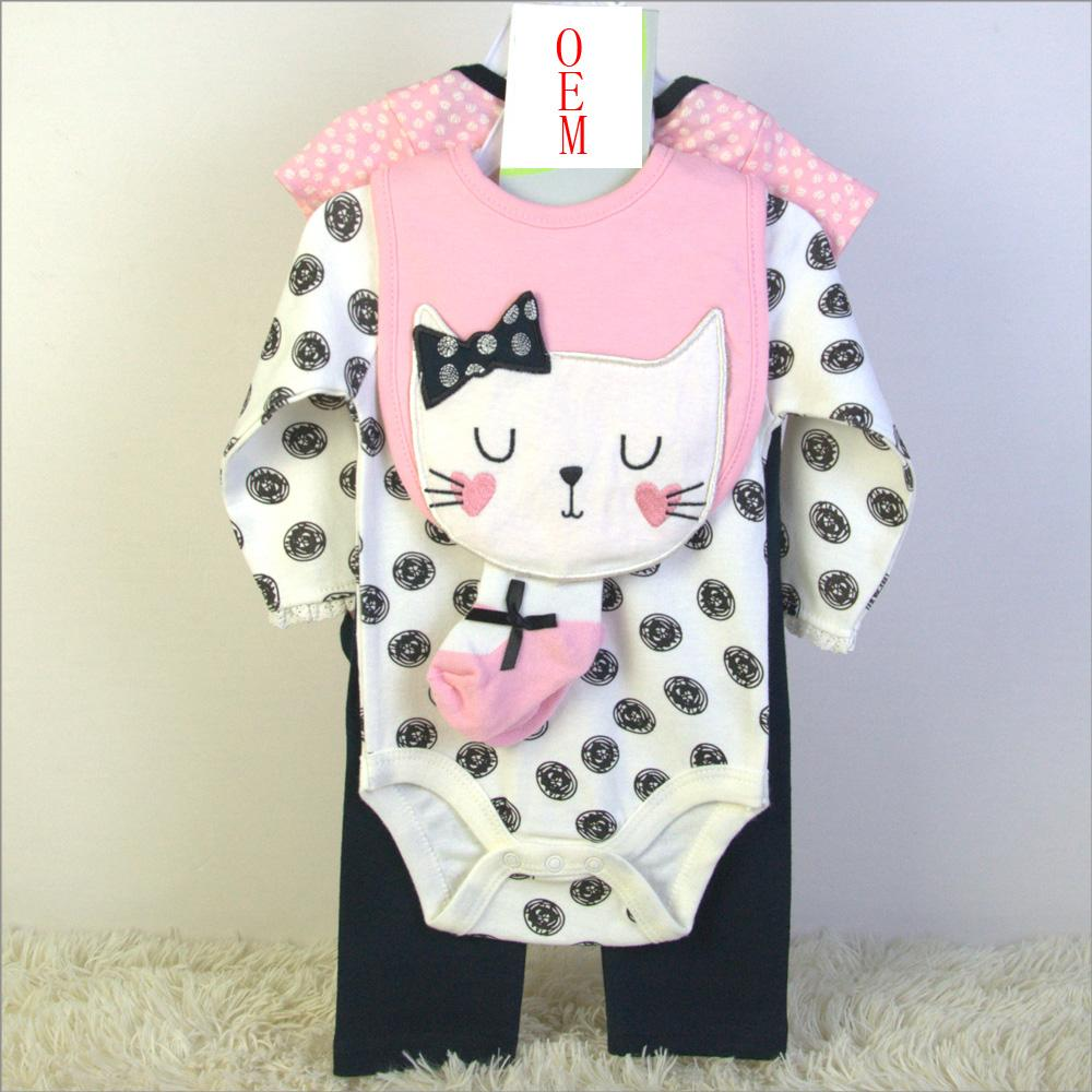 newborn baby clothing set China OEM baby garment factory 1