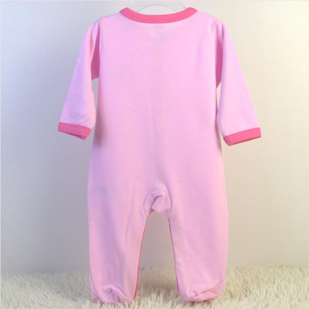 China baby garment OEM order factory offer baby sleepers 3 pack set 3