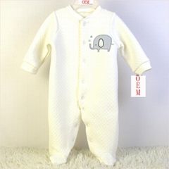 China baby wear OEM factory offer infant coveralls rompers