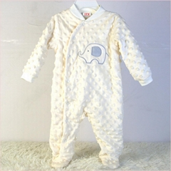 baby garment OEM factory offer infant coveralls rompers
