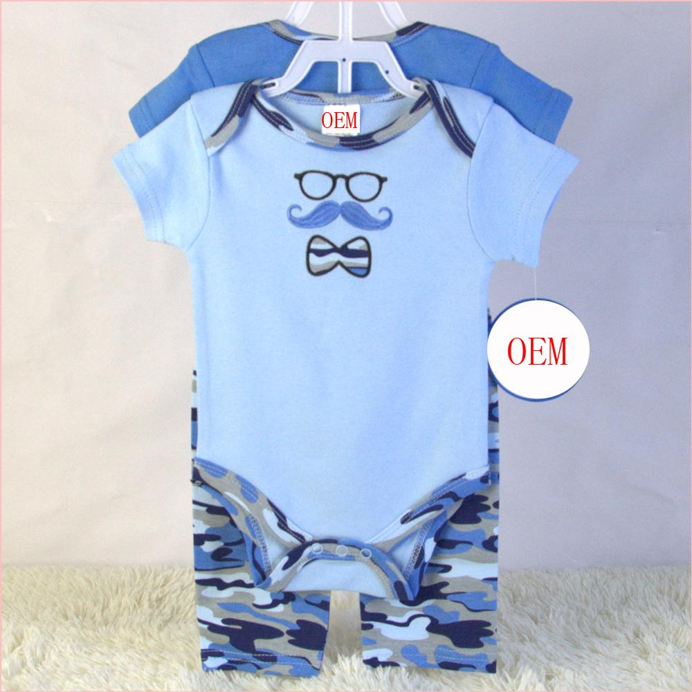China baby garment OEM factory makes baby sets according to customers' samples 1