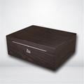 进口西班牙香柏实木贴木皮雪茄箱