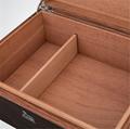 进口西班牙香柏实木贴木皮雪茄箱保湿盒 5
