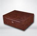进口西班牙香柏实木贴木皮雪茄箱保湿盒 2