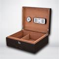 进口西班牙香柏实木贴木皮雪茄箱保湿盒 3