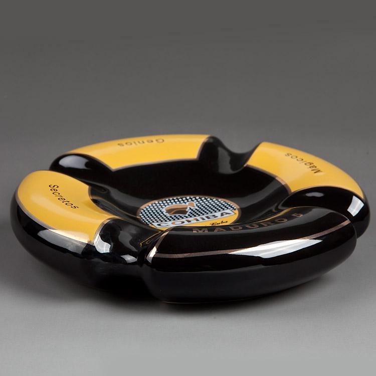 黄黑烟灰缸 1