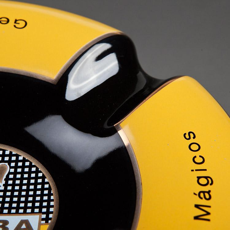 黄黑烟灰缸 5