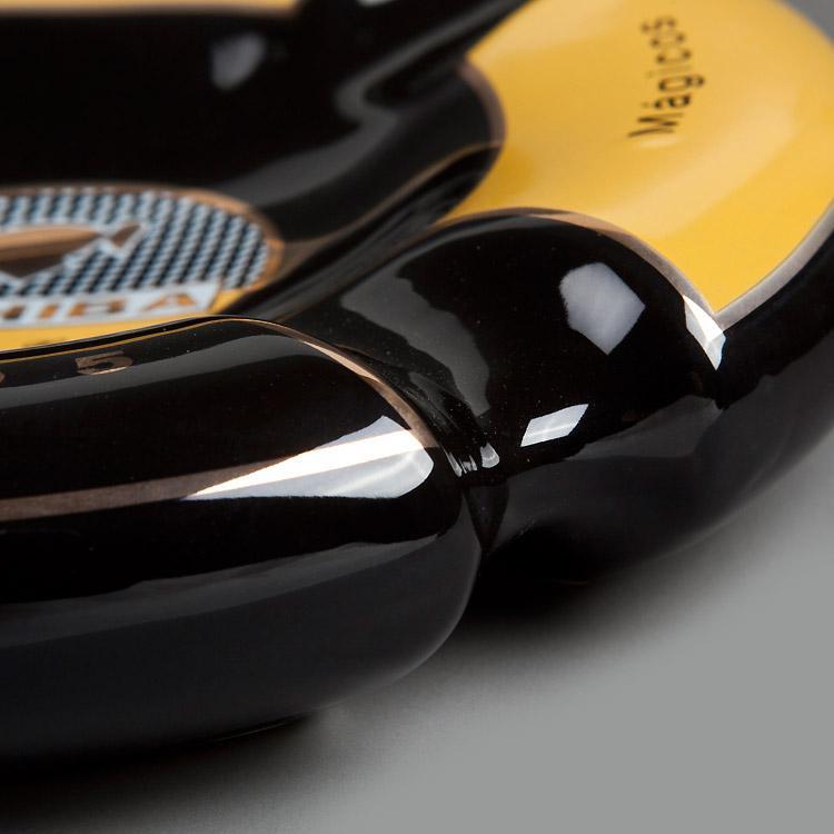 黄黑烟灰缸 4