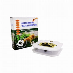 Automatic dog water fountain Encourages Pet Drinking Fountain Automatic dog devi