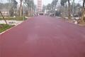 駐馬店彩色瀝青人行道鋪設駐馬店路面改色煥然一新 3