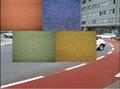 咸陽彩色瀝青人行道咸陽彩色路面施工造價 4