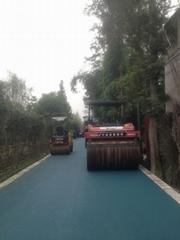 佳木斯彩色沥青路面佳木斯喷涂彩色沥青道路