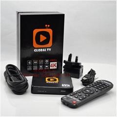 GLOBAL TV盒子 全球直播网络机顶盒