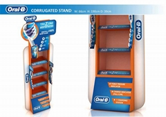 Factory Custom Design Paper Display Shelf Display Rack