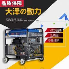 车载190A柴油发电电焊机