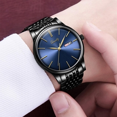 Small amount of OEM/ODM gifts Steel bands Men's quartz watches