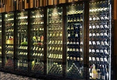 深圳廠家定製紅酒展櫃/恆溫恆濕展櫃/廠家專業定製