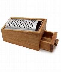 原木木餐具