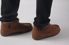Comfortable indoor Golden Cashmere Carbon Fiber Heating shoes
