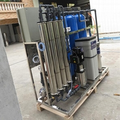 High efficient quartz sand and activated carbon filter reverse osmosis system