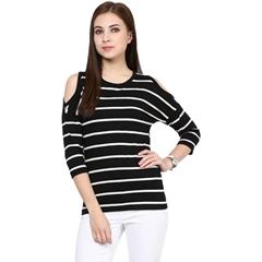 Ladies T-Shirt Stripe Design