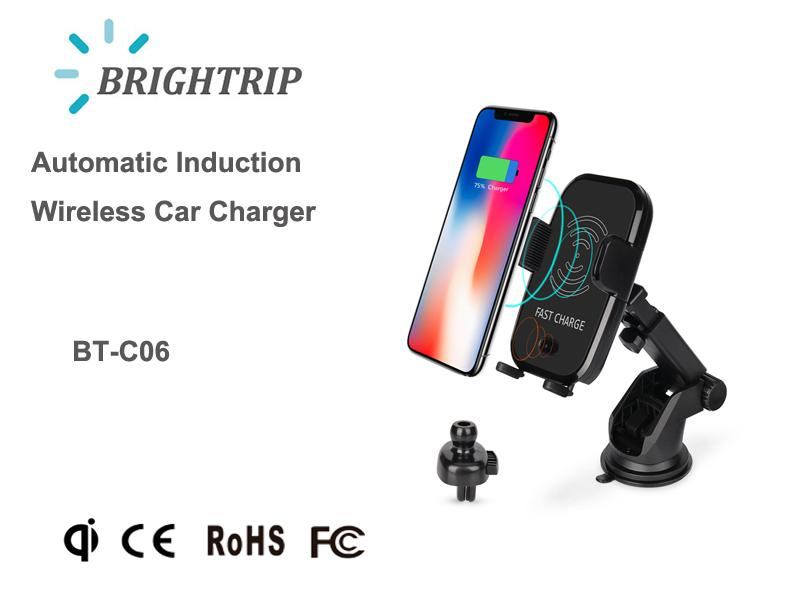 Automatic Induction Wireless Car Charger  1