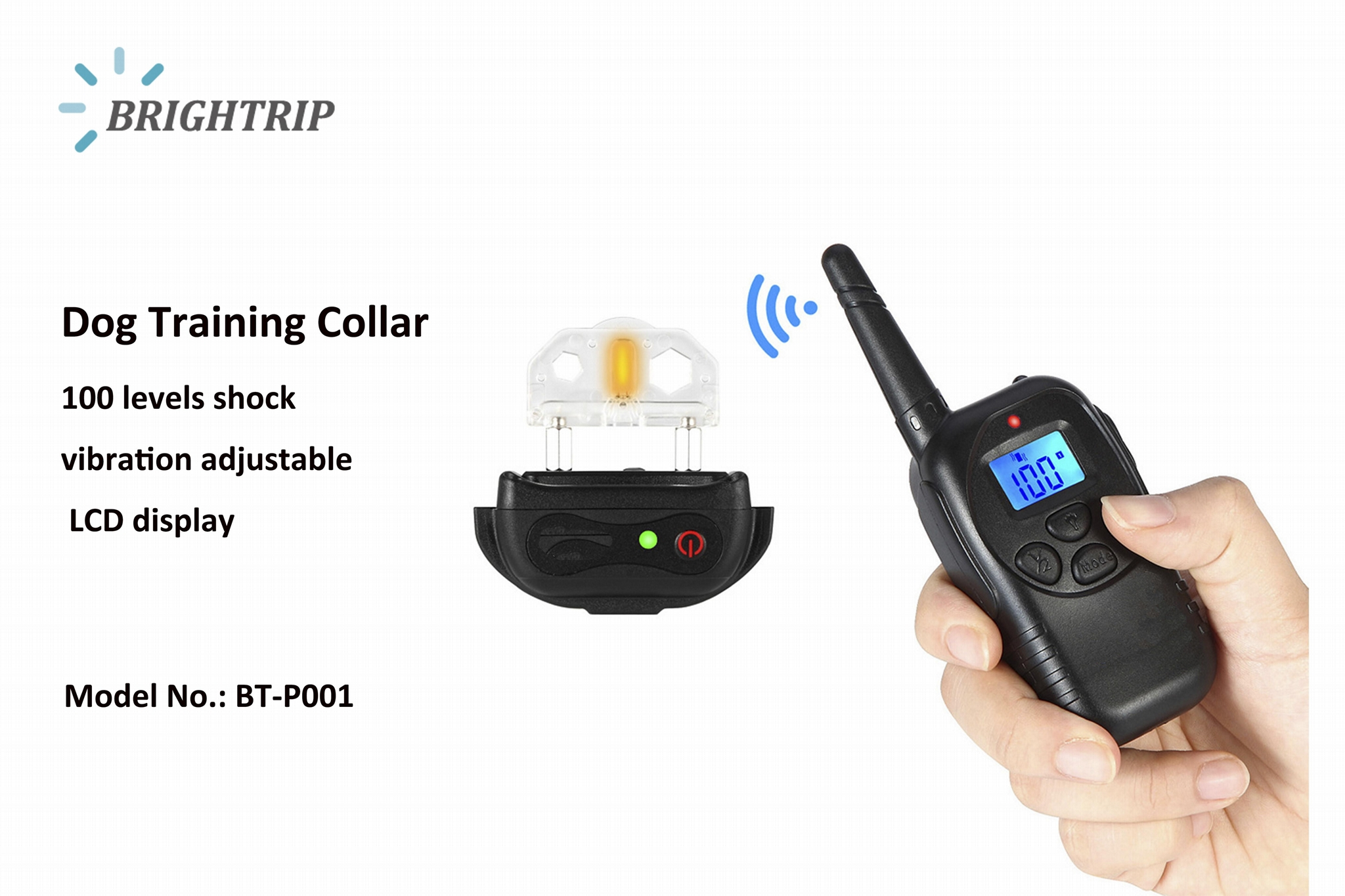 300 Meters Remote Dog Training  Collar 3