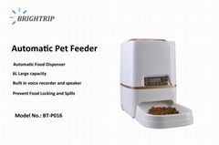 6L Automatic Pet Feeder Food Dispenser for Cat Dog with Voice Recorder